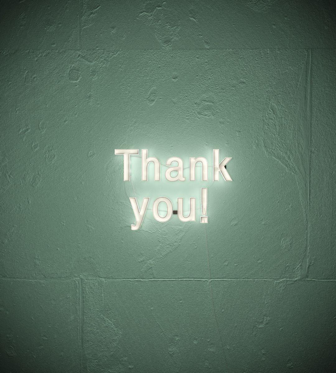 感謝の気持ちを忘れないでいる