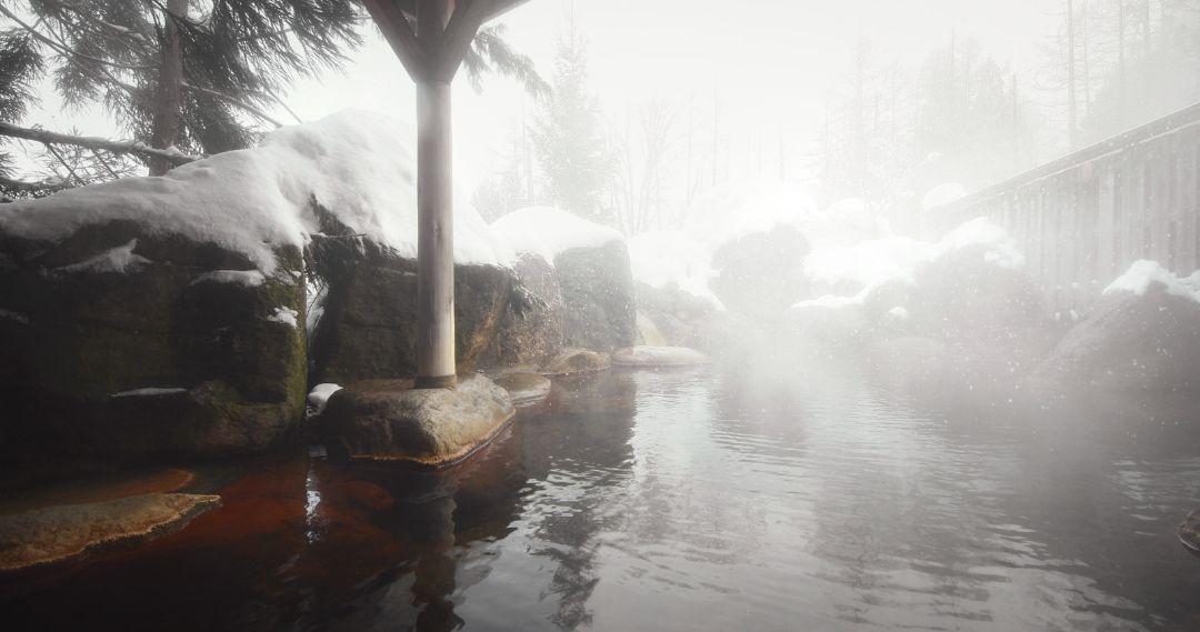 温泉自体を楽しめるようにする