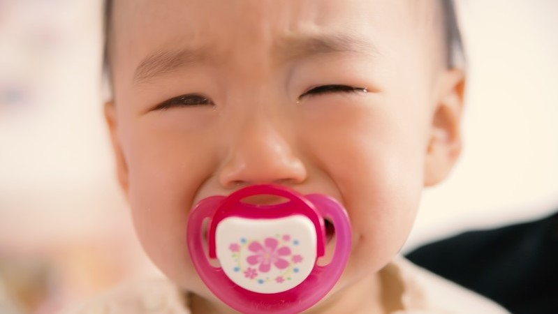子供,泣き止む