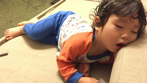 1歳3ヶ月,夜泣き