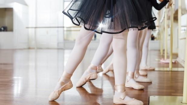 バレエ,習う,子供