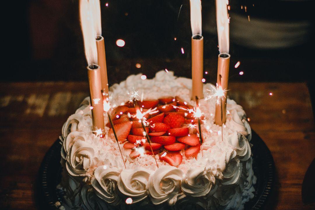 ケーキを用意してくれていた