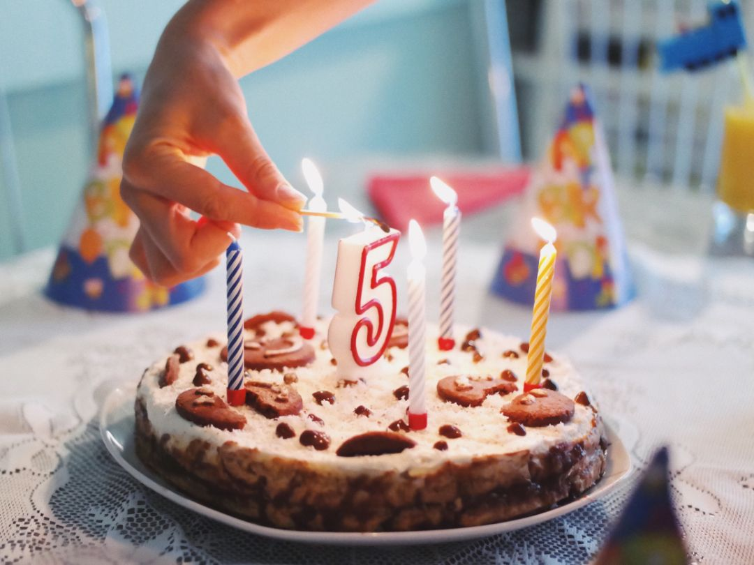 手作りケーキが登場するデート