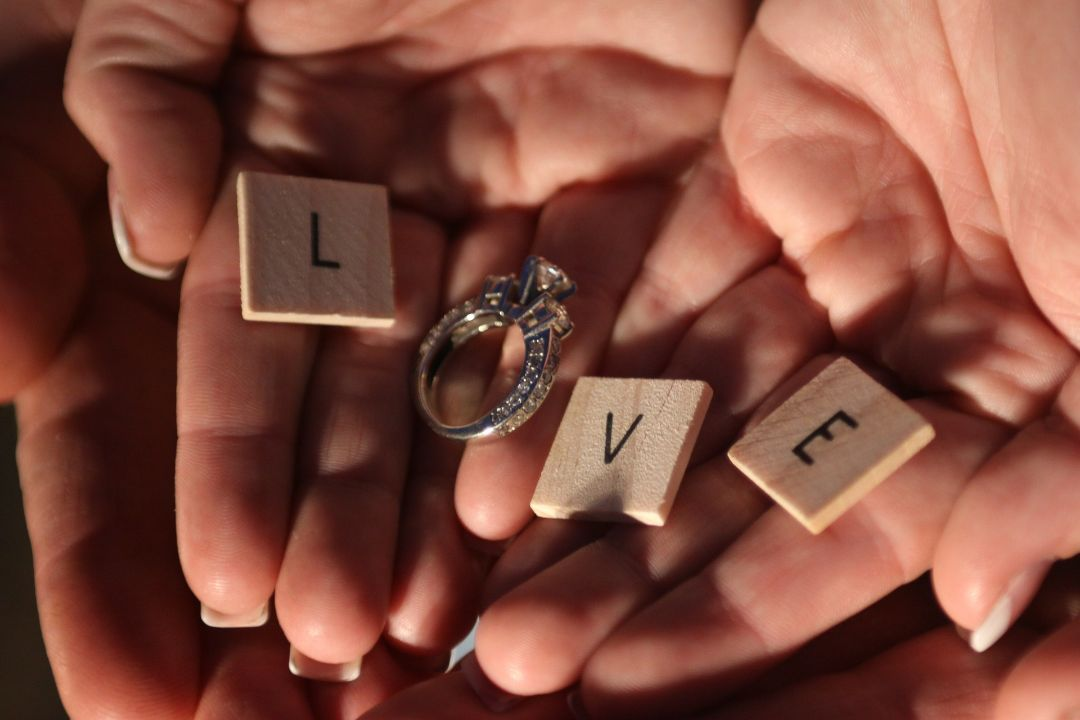 プロポーズされた
