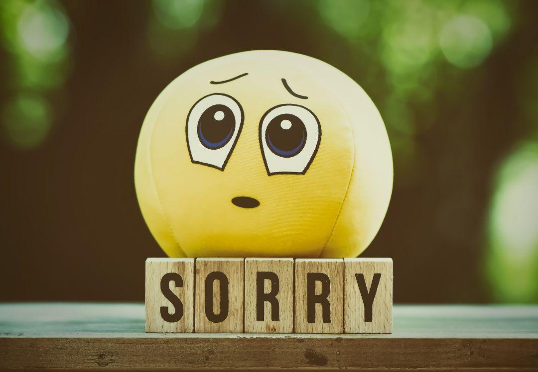 もし自分が原因なら謝罪する