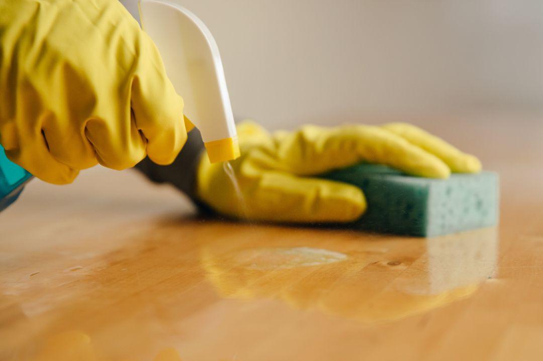 徹底的に掃除する