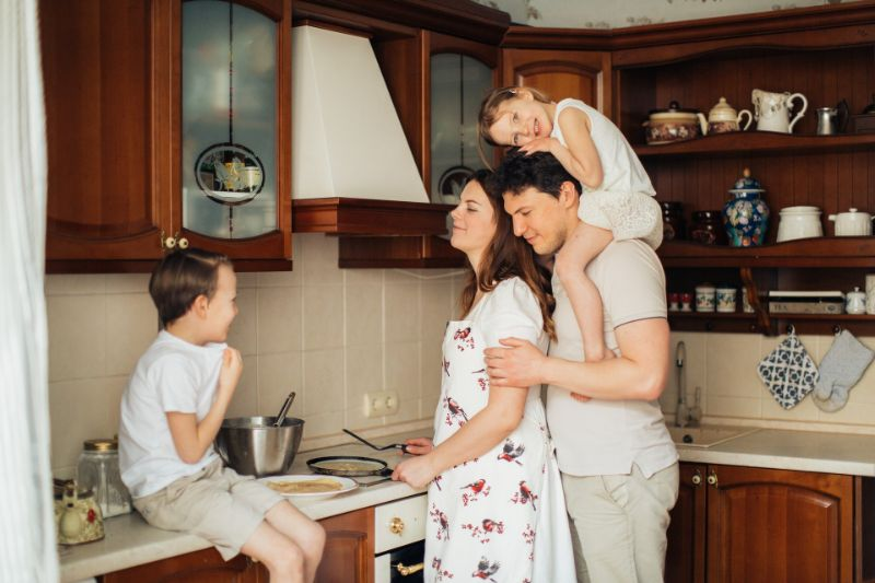 家庭的な人