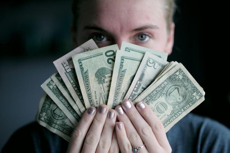 お金を預ける