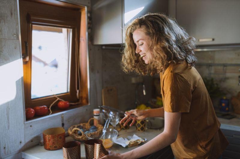 料理をしたり食事を楽しむ時
