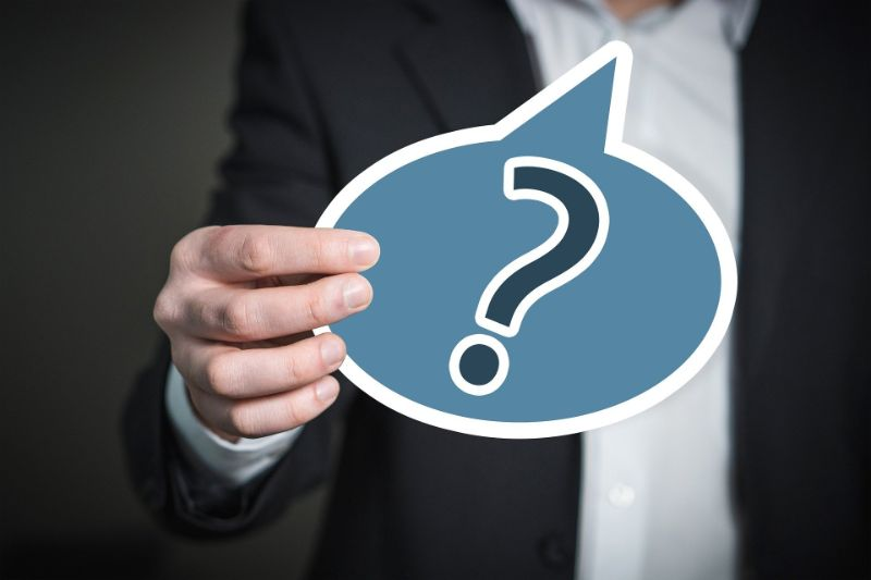 質問や疑問を送り、返信を促す